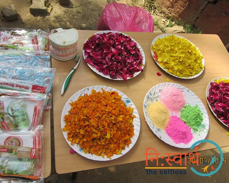 Holi At Prayas by Niswarth - One