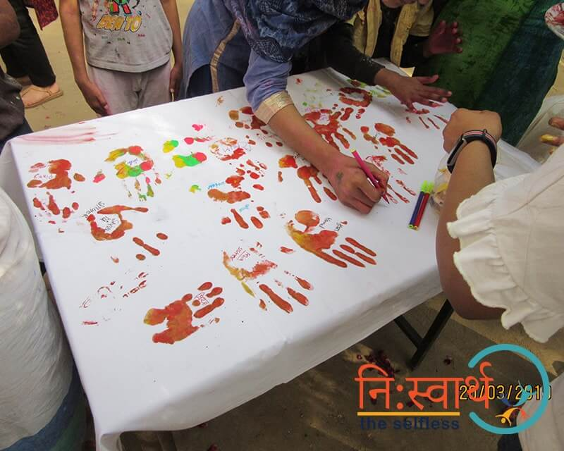 Holi At Prayas by Niswarth - Six