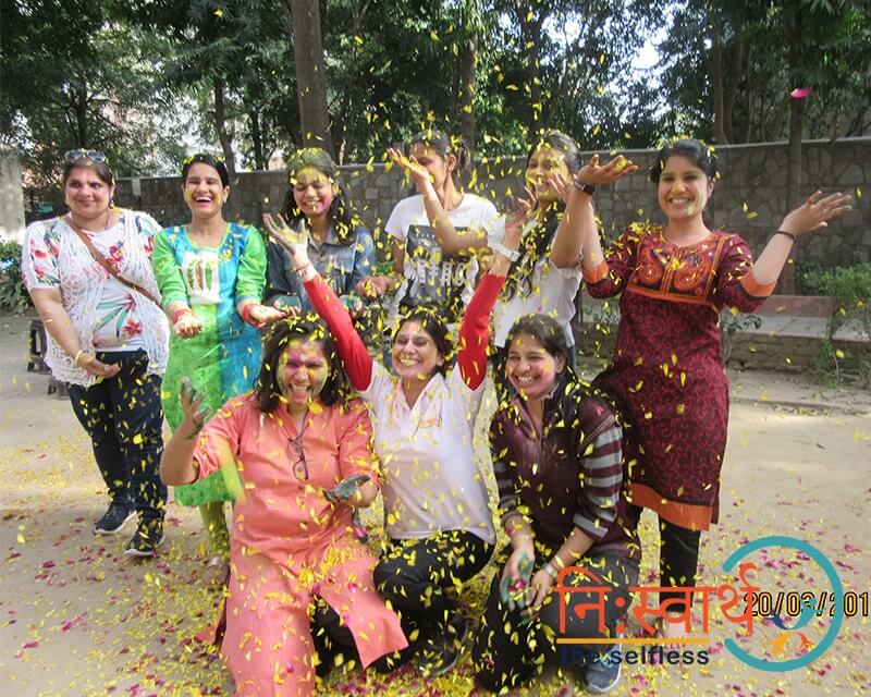 Holi At Prayas by Niswarth - Ten