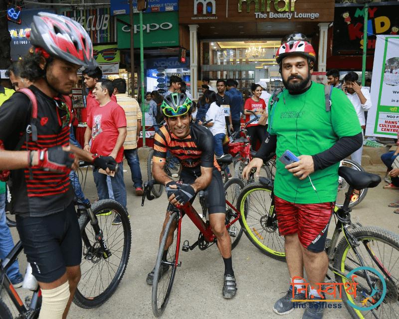 Cycle Chalao Delhi Bachao - 104