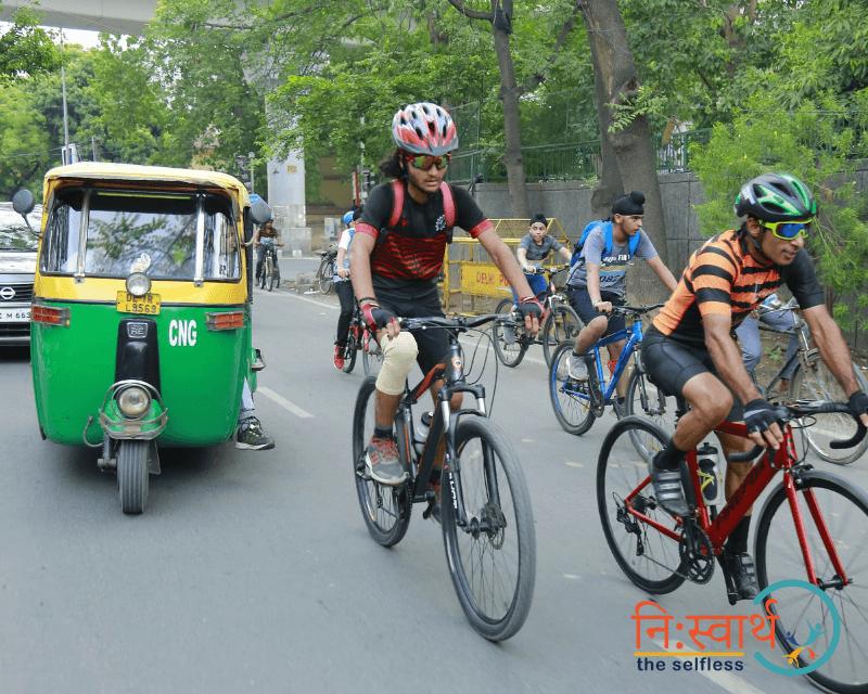 Cycle Chalao Delhi Bachao - 105