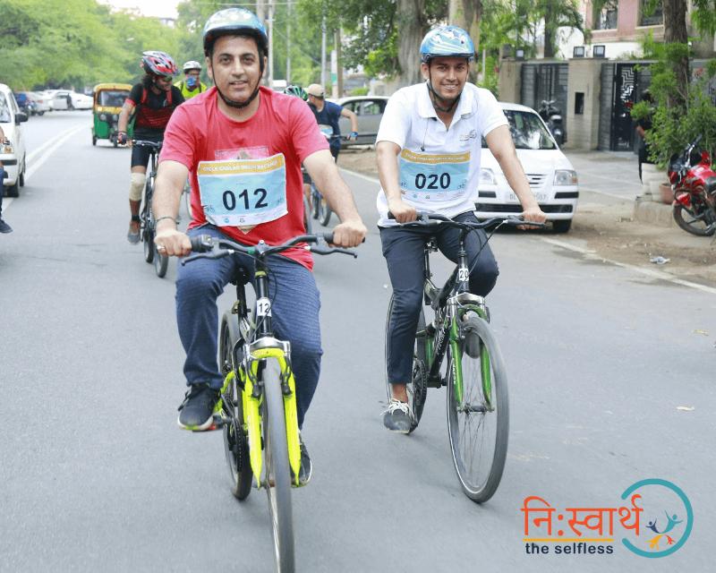 Cycle Chalao Delhi Bachao - 107