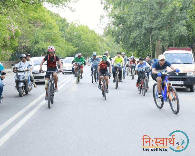 Cycle Chalao Delhi Bachao - 108