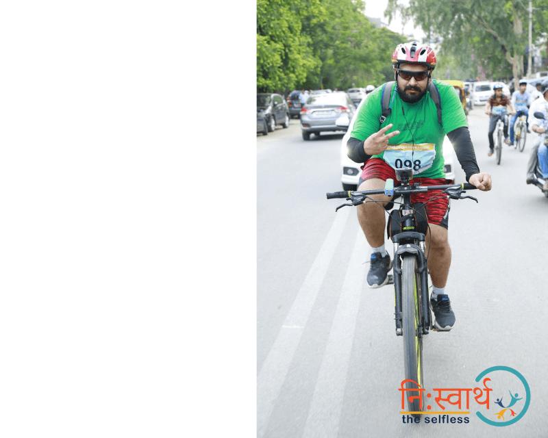 Cycle Chalao Delhi Bachao - 110