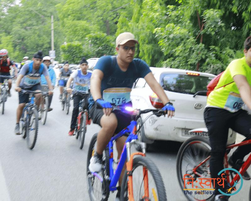 Cycle Chalao Delhi Bachao - 112