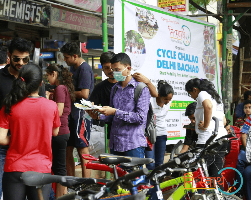 Cycle Chalao Delhi Bachao - 91