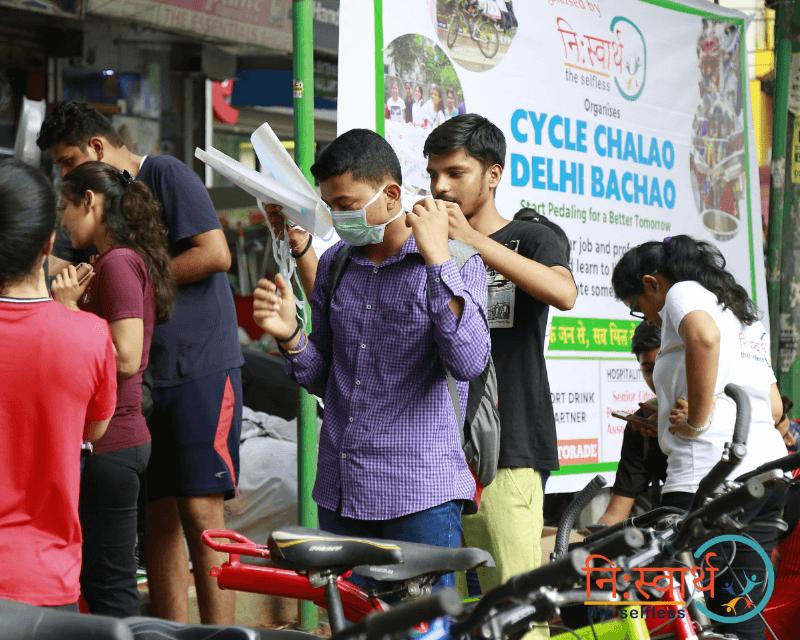 Cycle Chalao Delhi Bachao - 98