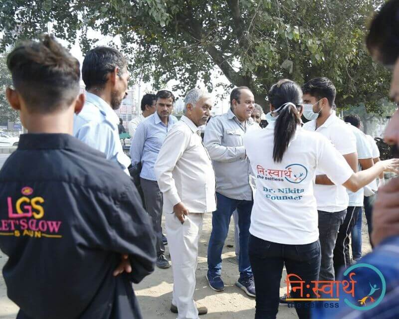 1 - Faridabad Cleanliness Drive - Niswarth The Selfless