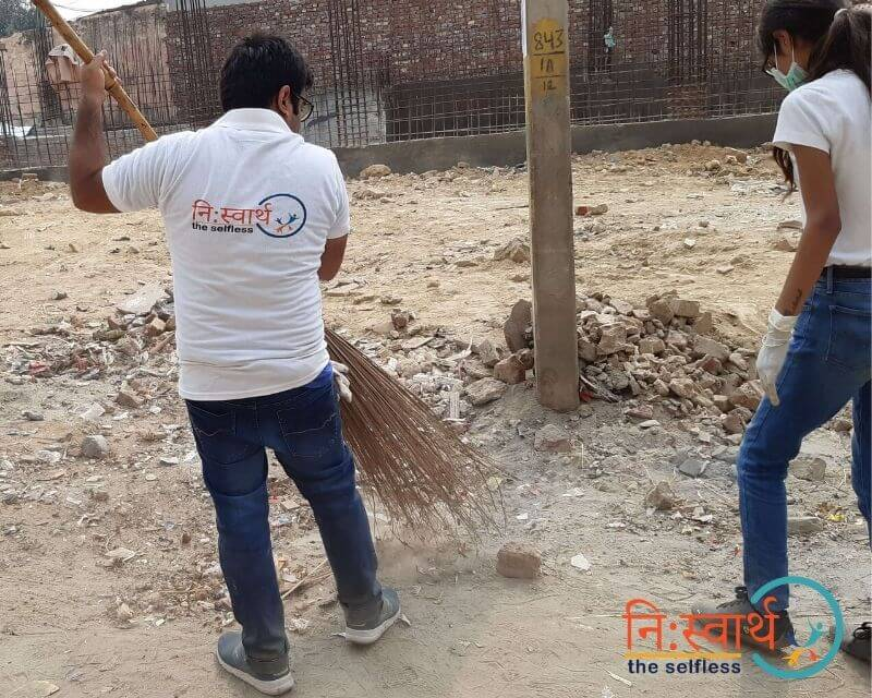 10 - Faridabad Cleanliness Drive - Niswarth The Selfless