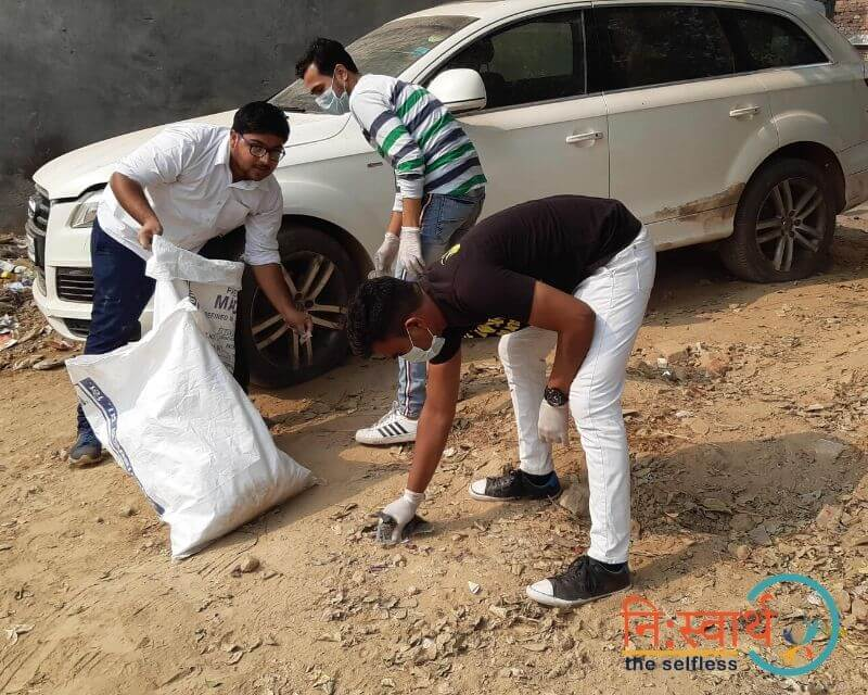 11 - Faridabad Cleanliness Drive - Niswarth The Selfless