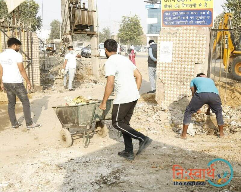 13 - Faridabad Cleanliness Drive - Niswarth The Selfless