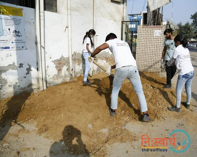 14 - Faridabad Cleanliness Drive - Niswarth The Selfless