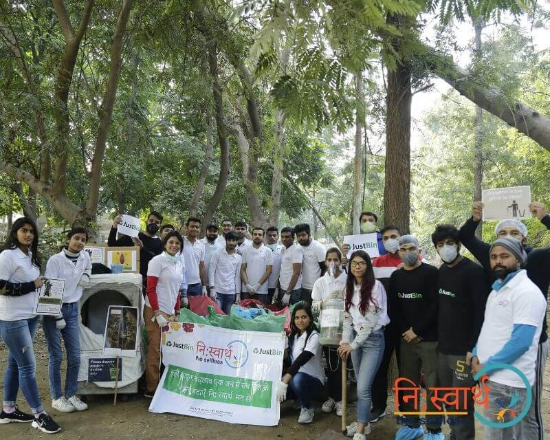 15 - Leisure Valley - Cleanliness Drive - Niswarth The Selfless