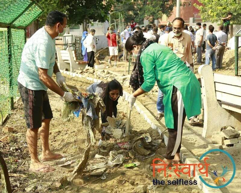 2-Cleanliness Drive_ संशुधी (October) - Niswarth The Selfless