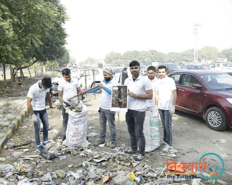 22 - Leisure Valley - Cleanliness Drive - Niswarth The Selfless
