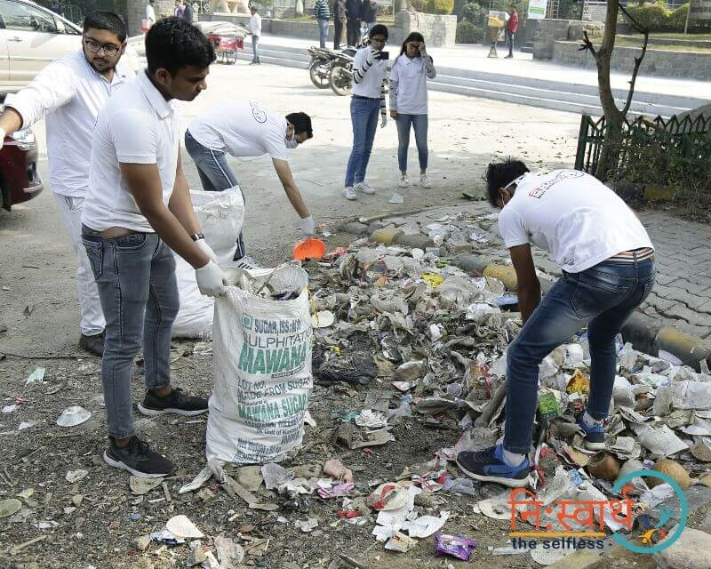 25 - Leisure Valley - Cleanliness Drive - Niswarth The Selfless