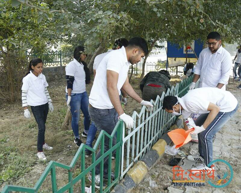 26 - Leisure Valley - Cleanliness Drive - Niswarth The Selfless