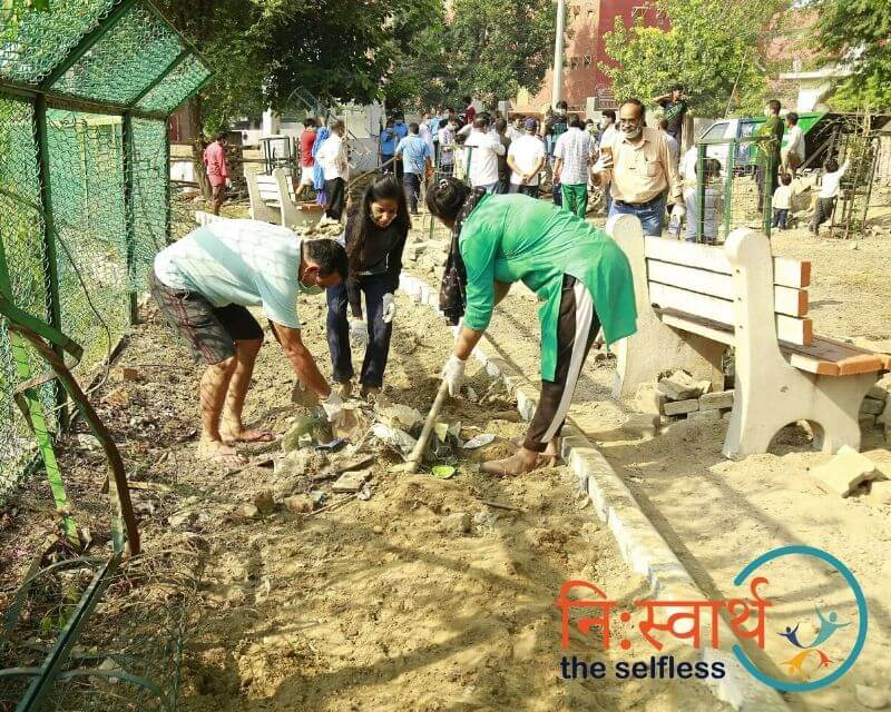 3-Cleanliness Drive_ संशुधी (October) - Niswarth The Selfless