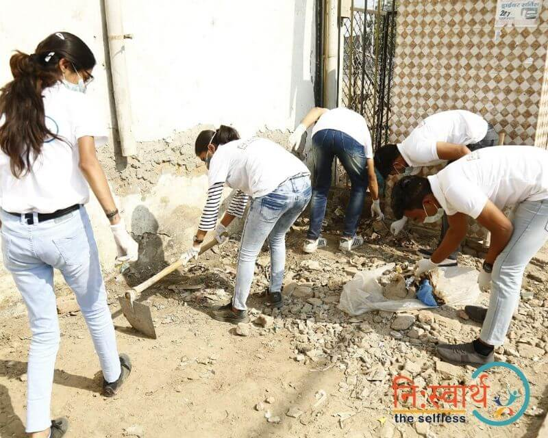 3 - Faridabad Cleanliness Drive - Niswarth The Selfless