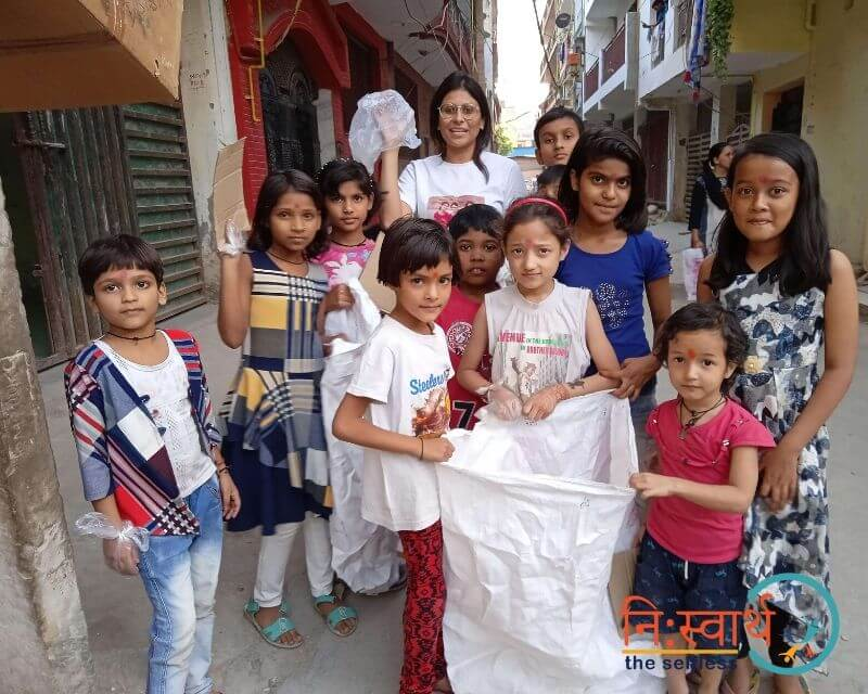 4 - Chillar Party - Cleanliness Drive - Niswarth The Selfless