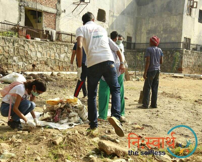 4-Cleanliness Drive_ संशुधी (October) - Niswarth The Selfless