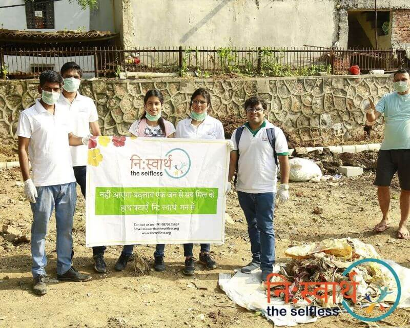 5-Cleanliness Drive_ संशुधी (October) - Niswarth The Selfless