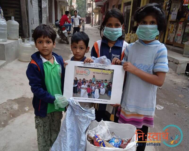 6 - Chillar Party - Cleanliness Drive - Niswarth The Selfless
