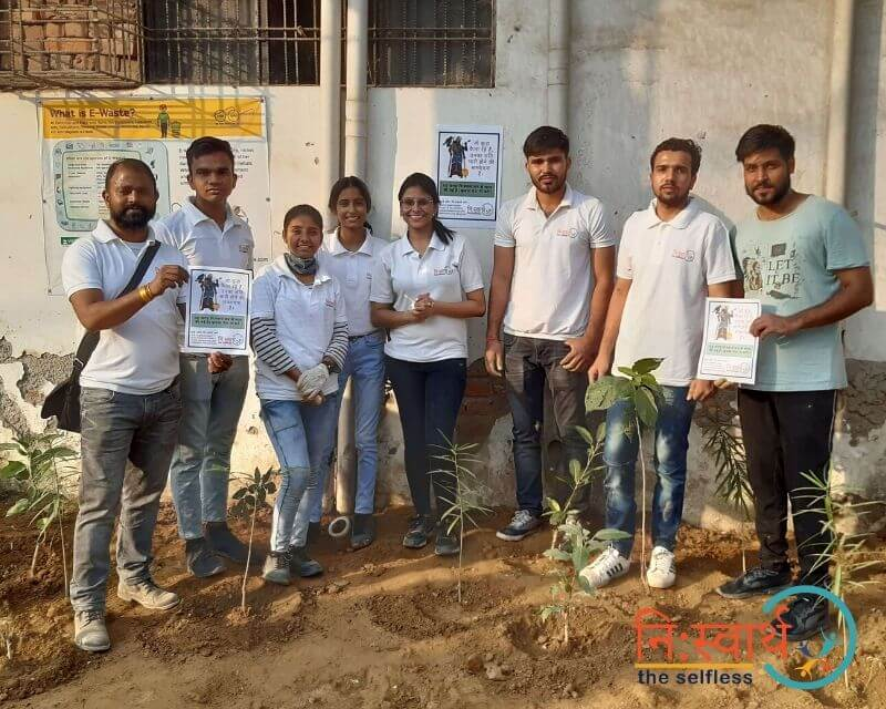6 - Faridabad Cleanliness Drive - Niswarth The Selfless
