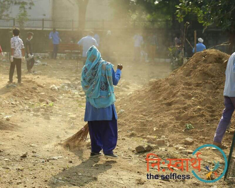 7-Cleanliness Drive_ संशुधी (October) - Niswarth The Selfless