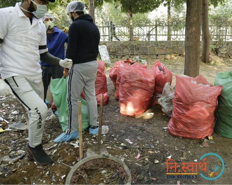 8 - Leisure Valley - Cleanliness Drive - Niswarth The Selfless