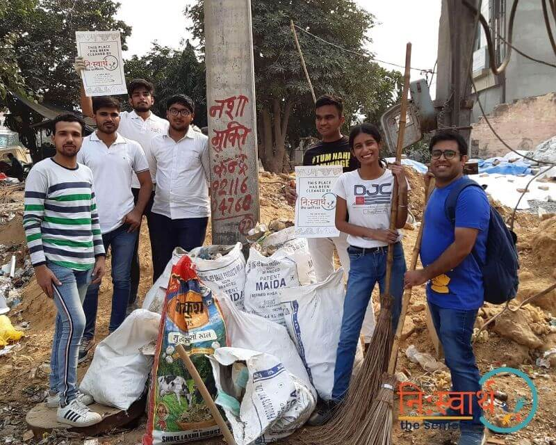 8 - Faridabad Cleanliness Drive - Niswarth The Selfless