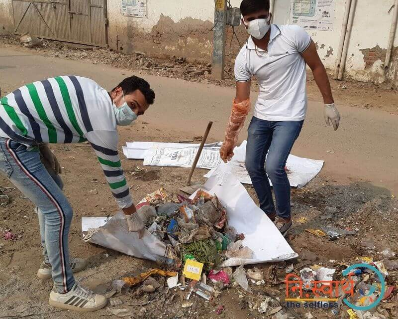 9 - Faridabad Cleanliness Drive - Niswarth The Selfless