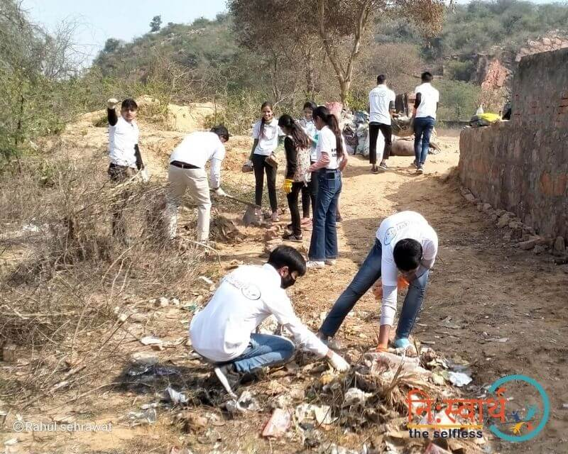 1 - Cleanliness Drive- february(2020) - Niswarth The Selfless