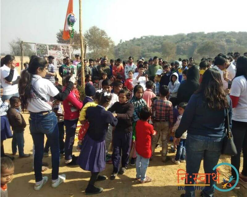 11 - Awareness Drive- february(2020) - Niswarth The Selfless