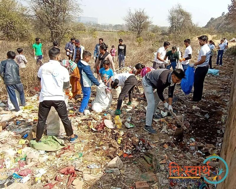 11 - Cleanliness Drive- february(2020) - Niswarth The Selfless