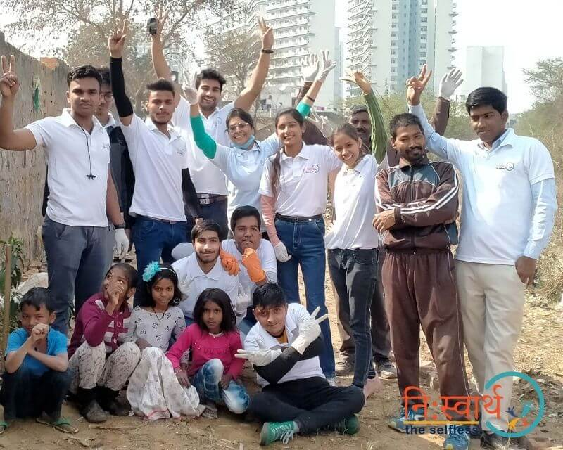 12 - Cleanliness Drive- february(2020) - Niswarth The Selfless