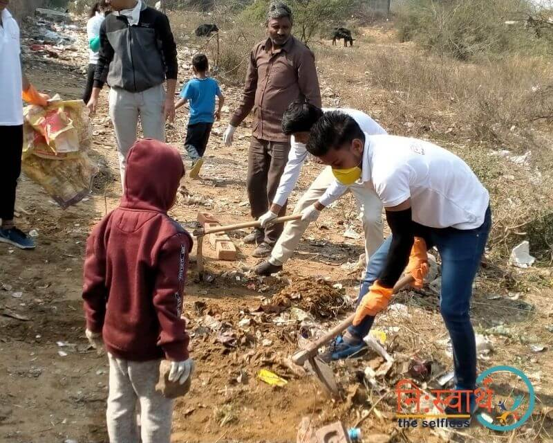 13 - Cleanliness Drive- february(2020) - Niswarth The Selfless