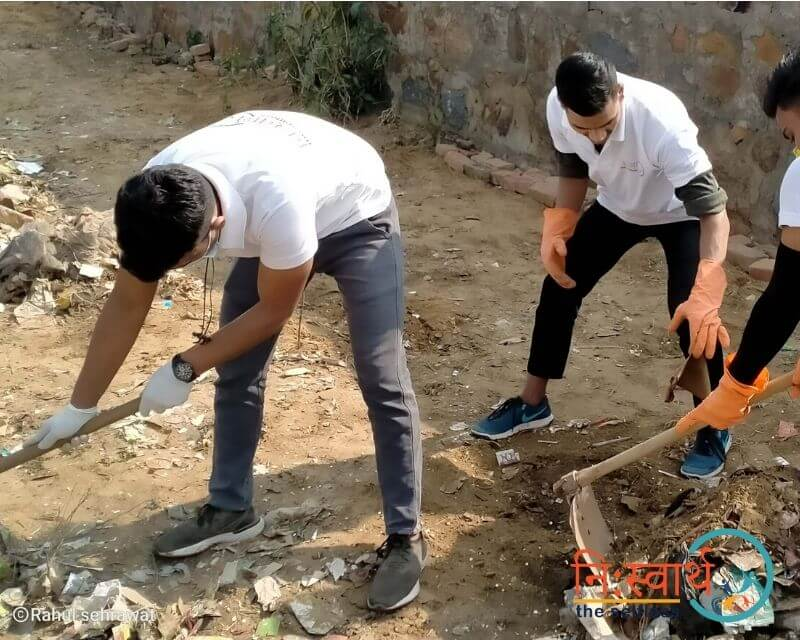 15 - Cleanliness Drive- february(2020) - Niswarth The Selfless