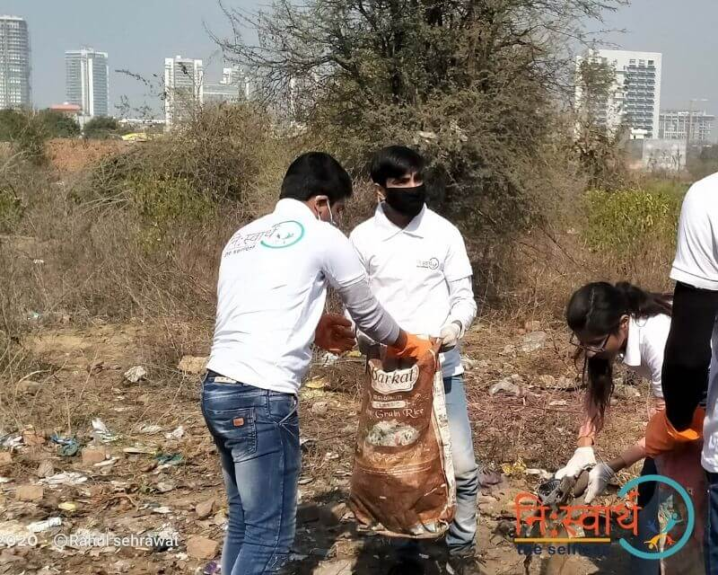2 - Cleanliness Drive- february(2020) - Niswarth The Selfless