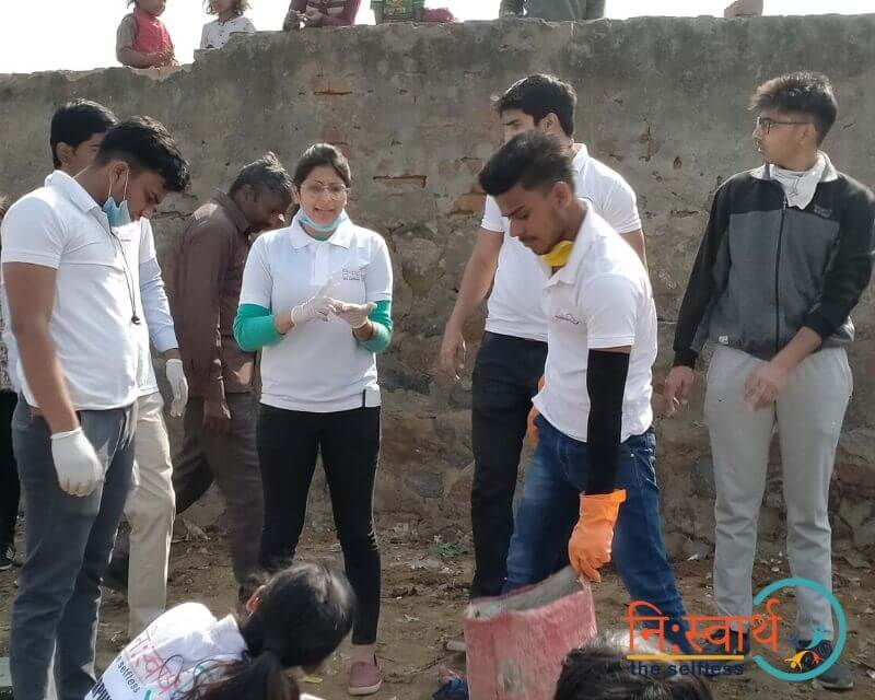 3 - Cleanliness Drive- february(2020) - Niswarth The Selfless