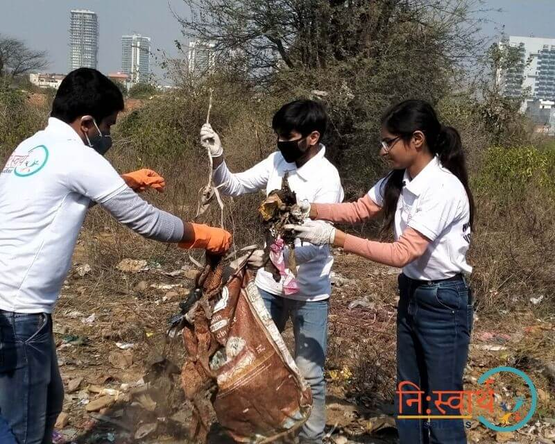 4 - Cleanliness Drive- february(2020) - Niswarth The Selfless
