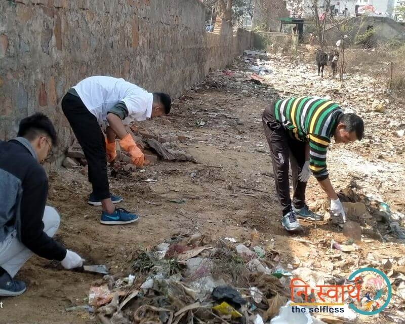 5 - Cleanliness Drive- february(2020) - Niswarth The Selfless