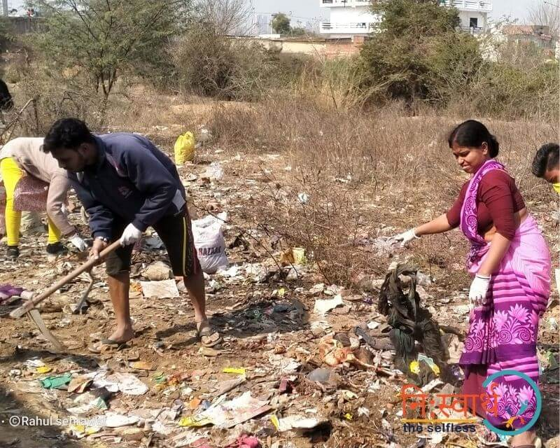 6- Cleanliness Drive- february(2020) - Niswarth The Selfless