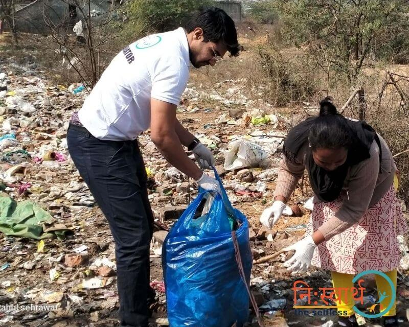7 - Cleanliness Drive- february(2020) - Niswarth The Selfless