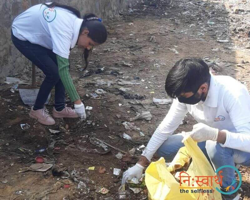 8 - Cleanliness Drive- february(2020) - Niswarth The Selfless