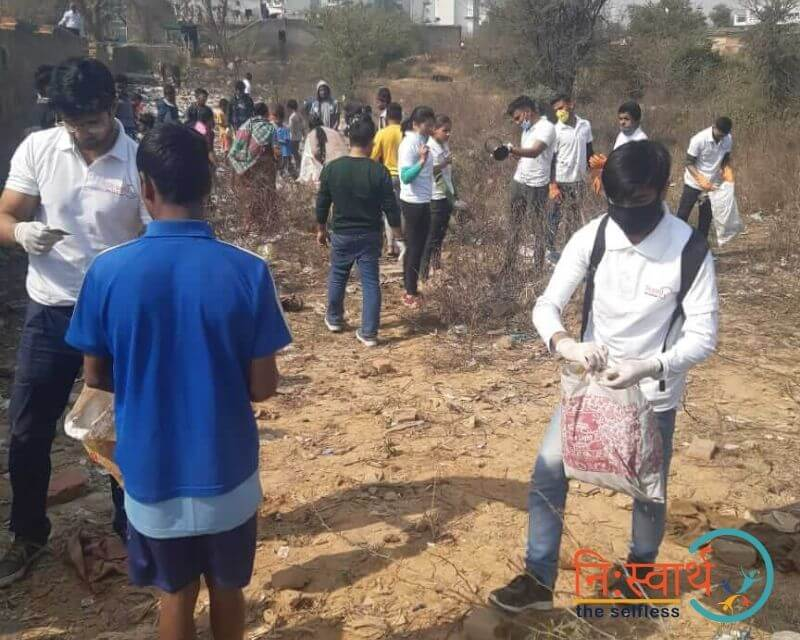 9 - Cleanliness Drive- february(2020) - Niswarth The Selfless