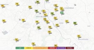 AQI Pollution Index - COVID-19