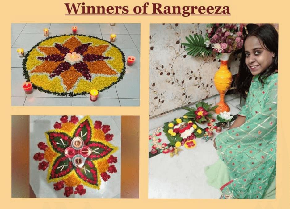November 14 2020 - Rangreeza (Eco-friendly Rangoli Competition)
