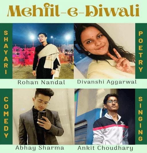 November 6 2020 - Mehfil-e-Diwali (Open Mic) - 9