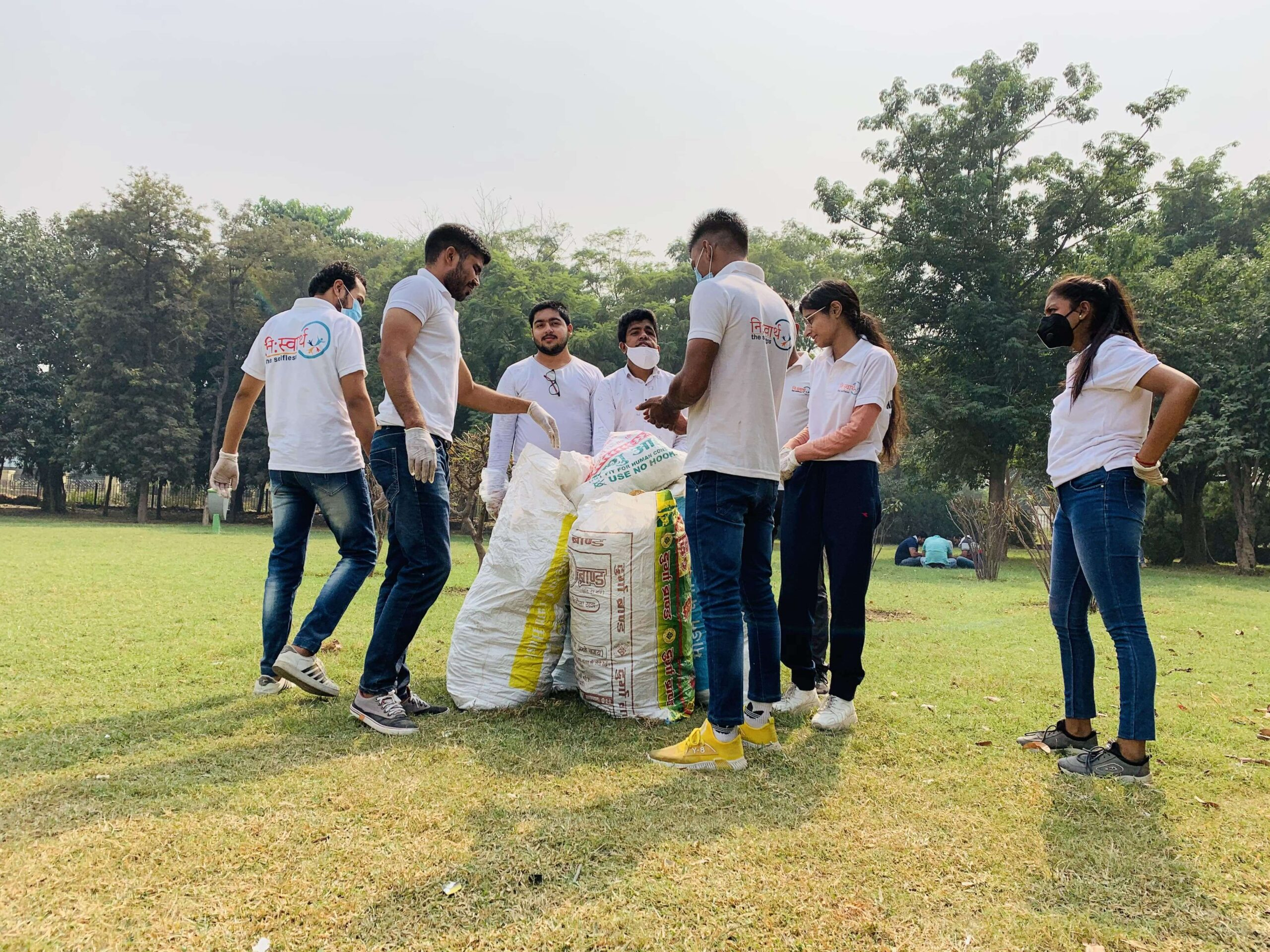October 25 2020 - Central Park Cleanliness Drive - 3